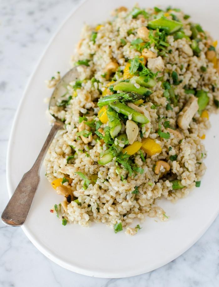 arroz blando cocido con legumbres, cenas ricas ideas fáciles de hacer para conseguir un menú saludable