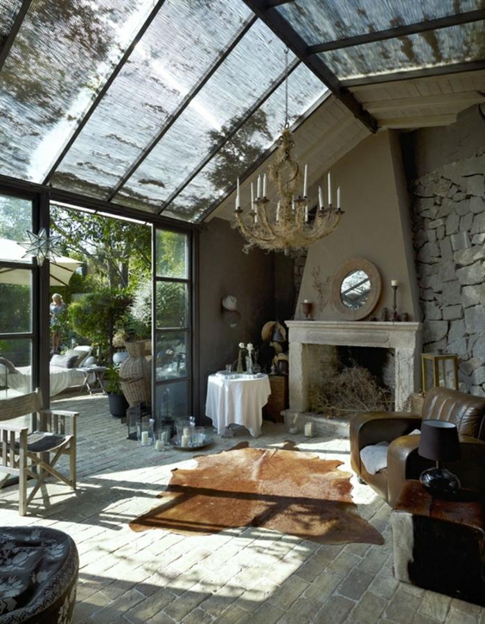 precioso espacio decorado en estilo rústico con muebles y decoración vintage, salones rusticos modernos decorados de encanto