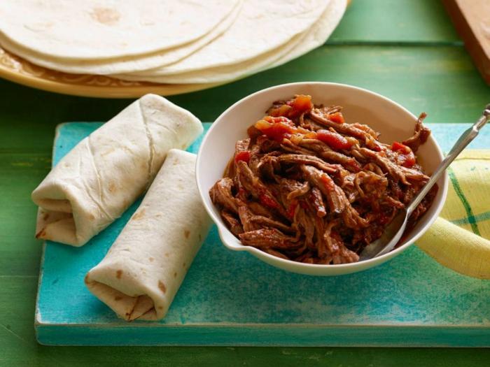 como hacer un almuerzo fácil y rico, ideas cena rica y facil, fajitas con carne de ternera paso a paso