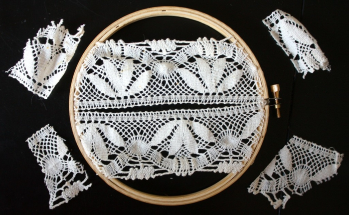 como hacer un atrapasueños con materiales de crochet paso a paso, ideas manualidades decoracion