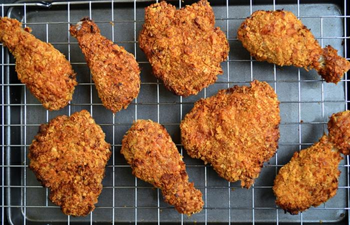 pollos crujientes a la parilla, recetas para cenas faciles de hacer, propuesta de cena rica,f;aacil y raida