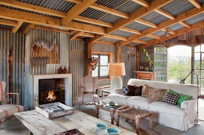1001 ideas sobre decoraci n de salones r sticos modernos for Salones modernos estilo nordico