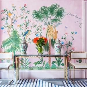 100 ideas alucinantes para decorar con papel pintado según las últimas tendencias