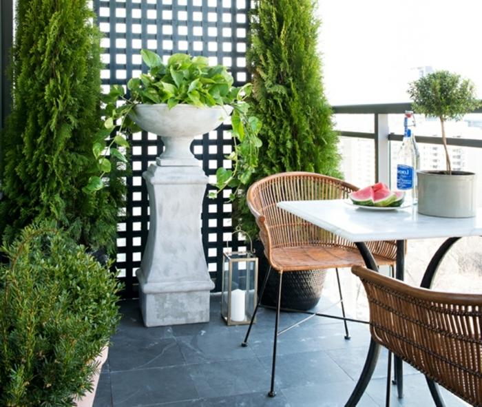 cómo decorar una terraza según las últimas tendencias en decoracion terrazas pequeñas