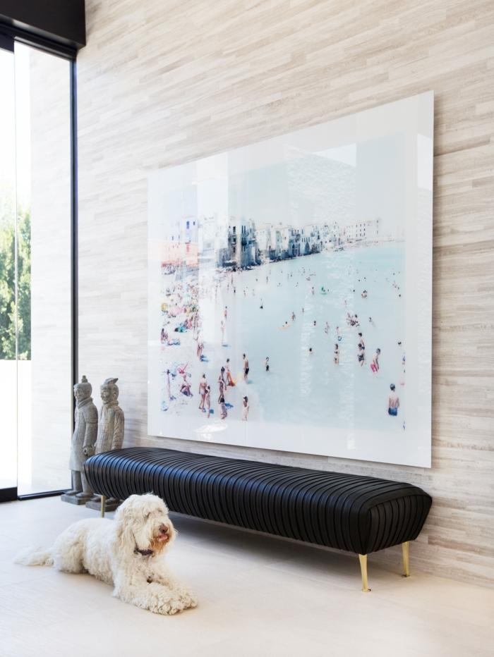 pasillo moderno alargado, últimas tendencias sobre cómo decorar un pasillo largo y moderno