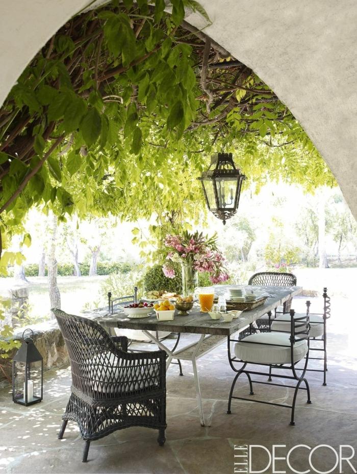 1001 ideas encantadores de dise o de patios decorados for Ideas de patios y jardines