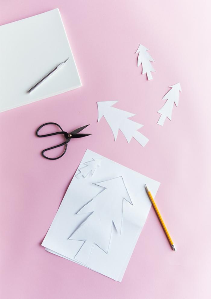 ideas originales con tutoriales, manualidades navidad goma eva paso a paso, como hacer árboles decorativos de goma eva