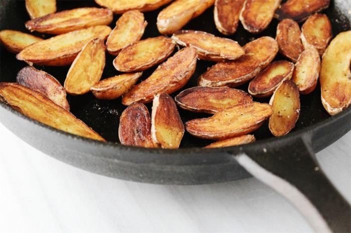 ideas de recetas de tapas clásicas, papas fritas para hacer en 10 minutos, ideas de entrantes sabrosos y fáciles de hacer