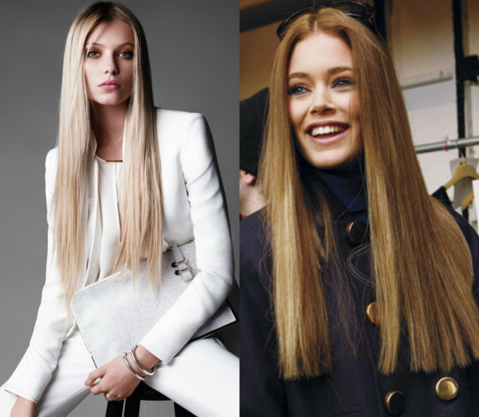 propuestas cortes de pelo degradado y cortes de pelo recto, tendencias peinados y cortes de pelo mujer 2018