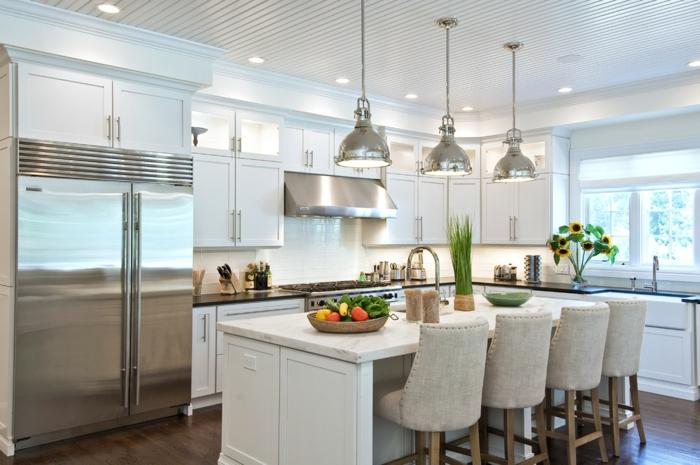 1001 ideas para cocinas americanas de ensue o for Modelos de cocinas modernas americanas