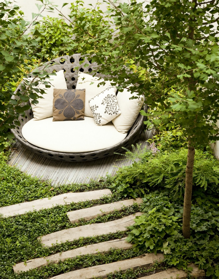1001 ideas sobre c mo decorar un jard n peque o for Como decorar jardines exteriores pequenos