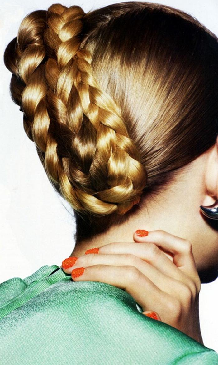 chicas con trenzas originales, ideas de peinados trenzados super modernos paso a paso