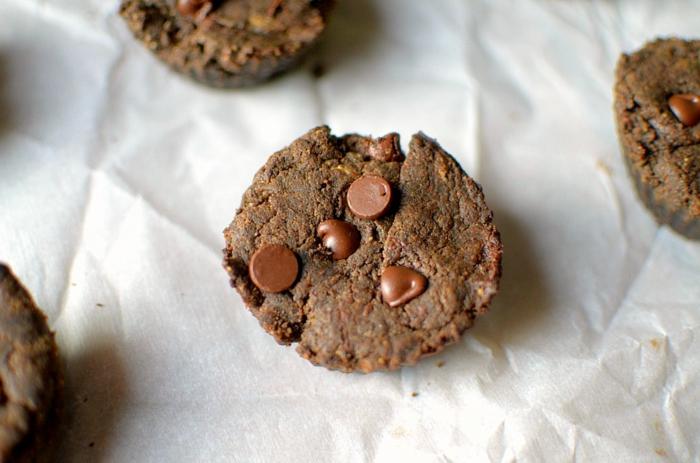 magdalenas de chocolate sin harina super fáciles de hacer, desayunos sanos con recetas paso a paso