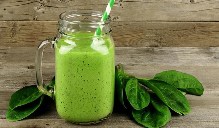 smoothie de espinacas, desayunos sanos para hacer en casa, comidas nutritivas, ricas y saludables