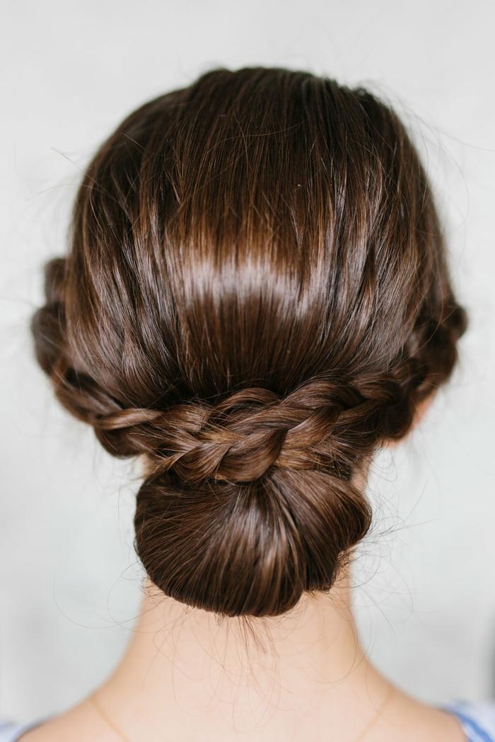 como hacer trenzas para salir de fiesta, peinados trenzados pelo largo cara ovalada paso a paso
