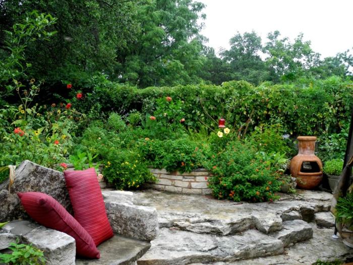 decoracion de jardines pequeños, trucos y consejos útiles sobre cómo organizar un jardín pequeño