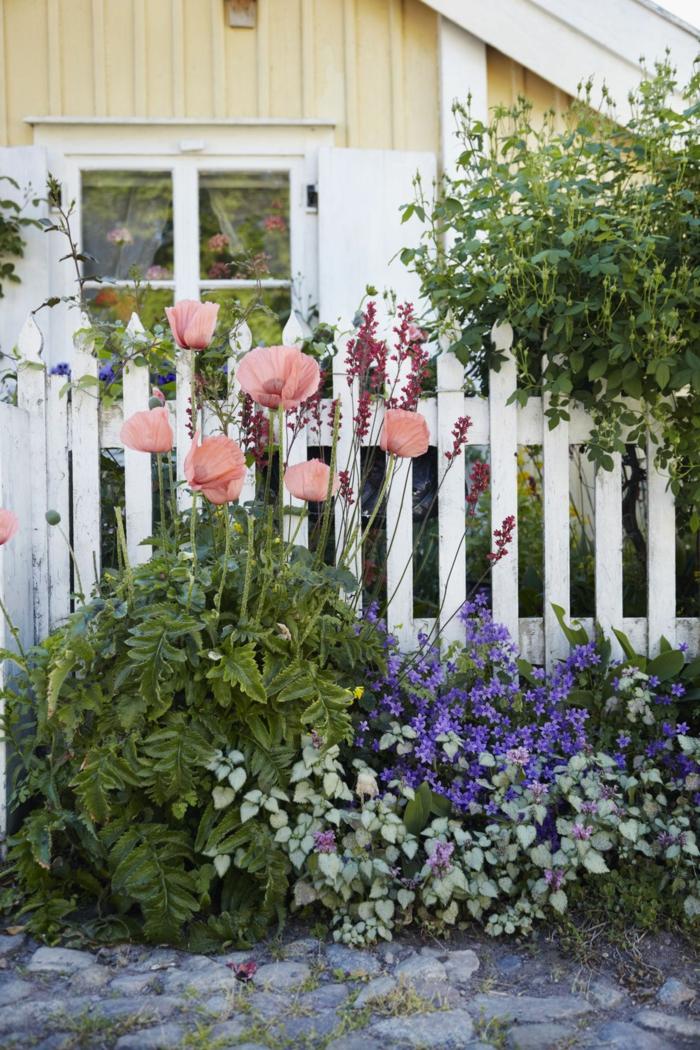 cómo organizar tu pequeño jardín, ideas y consejos útiles, decoracion de jardines con muchas flores