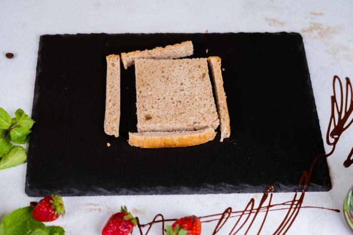 tostadas francesas originales paso a paso, fotos con ideas de postres faciles y rapidos, como hacer rollos de tostadas francesas