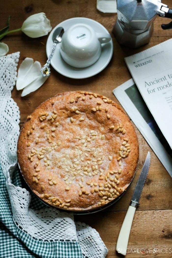 pasteles sin gluten para una dieta saludable, desayuno dieta ideas, tarta de nueces paso a paso