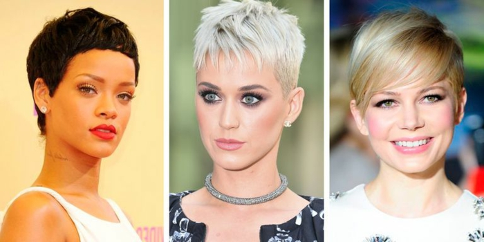 cortes de pelo liso mujer, diferentes ideas de como peinar y cortar el pelo corto con las ultimas tendencias del año 2018