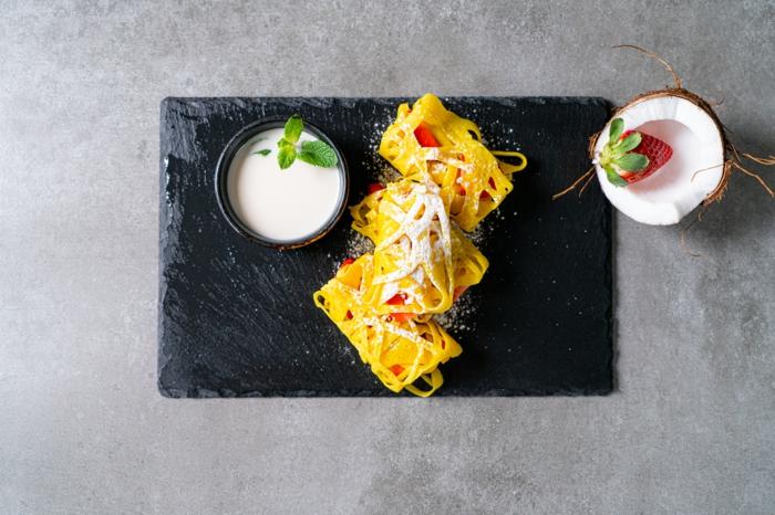 crepes roti jala super ricas y saludables, ideas de recetas caseras originales, cosas saludables para comer en desayuno