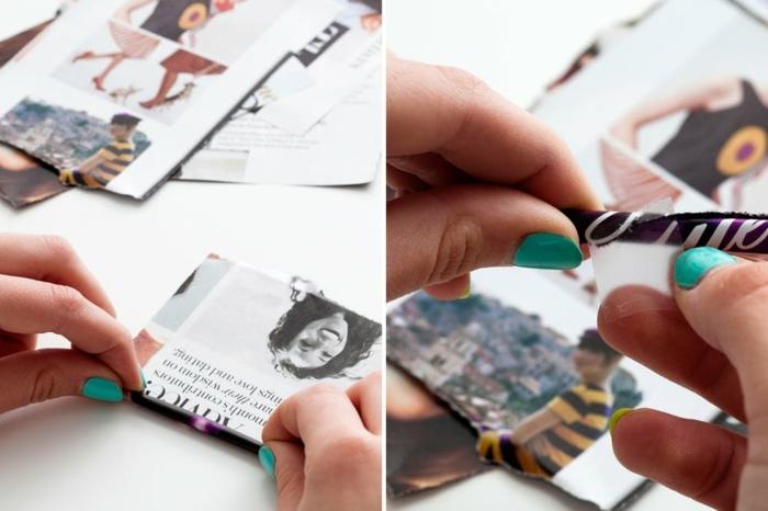 proyectos DIY con reciclaje, ideas de manualidades originales con papel reciclada tutorial