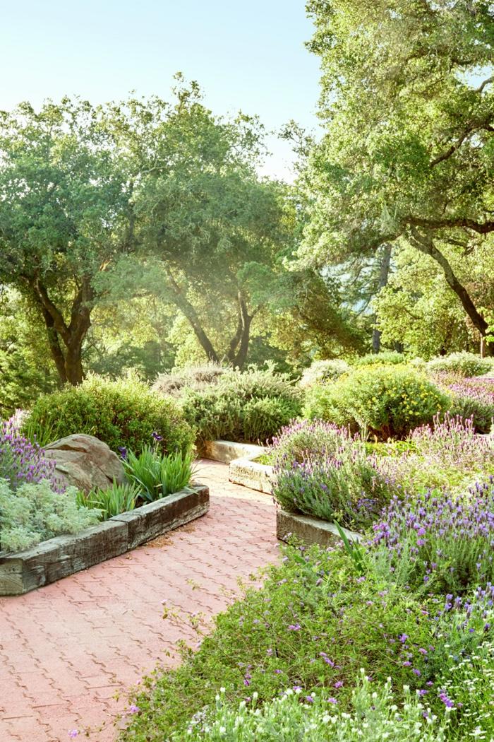 ideas para decorar jardines decorados con arbustos, cómo sacar el máximo partido a un jardín pequeño