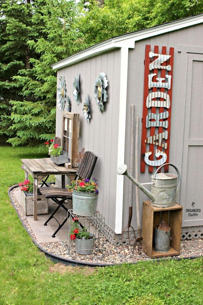 decoracion de jardines con piedras, garden o el almacén para nuestro cacharros de jardinería