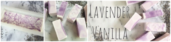 como hacer jabon con aceite, lavanda y vanilla paso a paso, preciosas ideas de manualidades para regalar