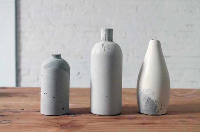bonita decoración para la casa hecha con botellas plasticas y arcilla, manualidades faciles y originales