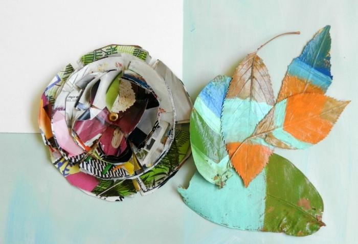 precioso ejemplo de manualidades faciles y rapidas con tela reciclada, decoración para la pared DIY