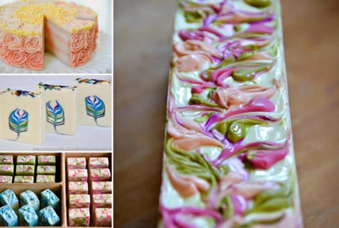 como hacer jabones artesanales originales, variantes para hacer jabón decorativo en casa