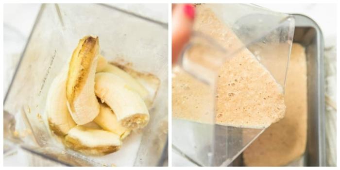 como hacer un batido de plátanos, paso a paso, desayunos faciles y rapidos con recetas completas