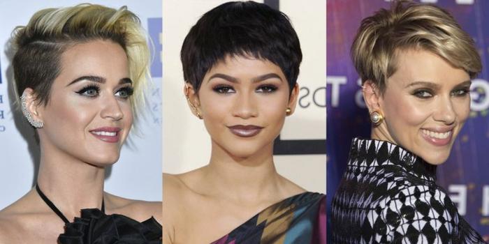 pelo corto ondulado mujer, diferentes ideas de como peinar el pelo con estilo bob, diferentes formas de llevar el flequillo dependiendo de la forma de la cara