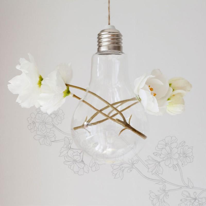 preciosas ideas de decoración manualidades con reciclaje, bombillas decorativas DIY paso a paso