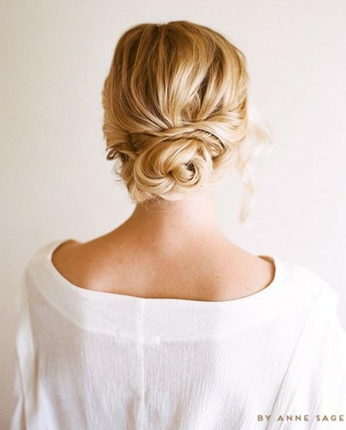 fotos de peinados modernos efecto despeinado, como conseguir un look relajado y romántico
