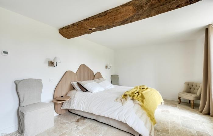 ideas sobre cómo decorar una habitación moderna en fotos, decoración moderna con elementos rústicos