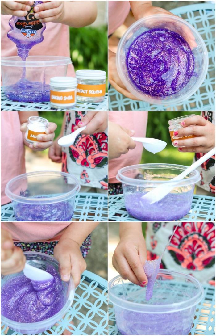 bonitas ideas con slime con tutoriales paso a paso en fotos, como hacer slime en casa