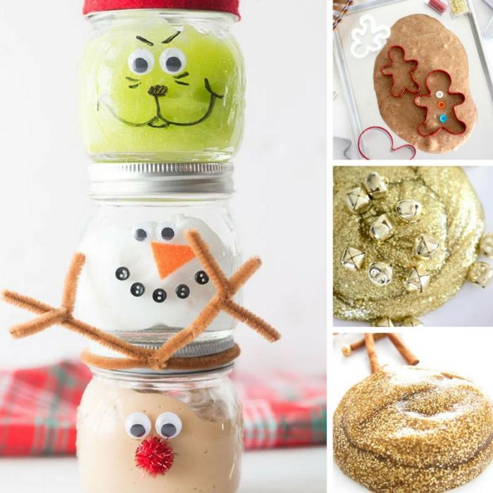 divertidas ideas para los pequeños, como se hace slime paso a paso, adornos navideños DIY