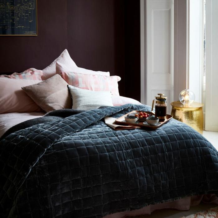 contrastes de colores para crear ambientes elegantes, dormitorios matrimonio de estilo
