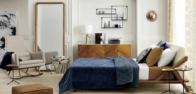 los espejos apoyados en el suelo son un hit total en la decoración, decoracion dormitorios según las top tendencias