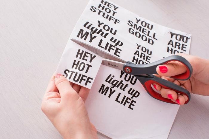 papel estampada con mensajes de motivación, ideas de regalos caseros para amigas