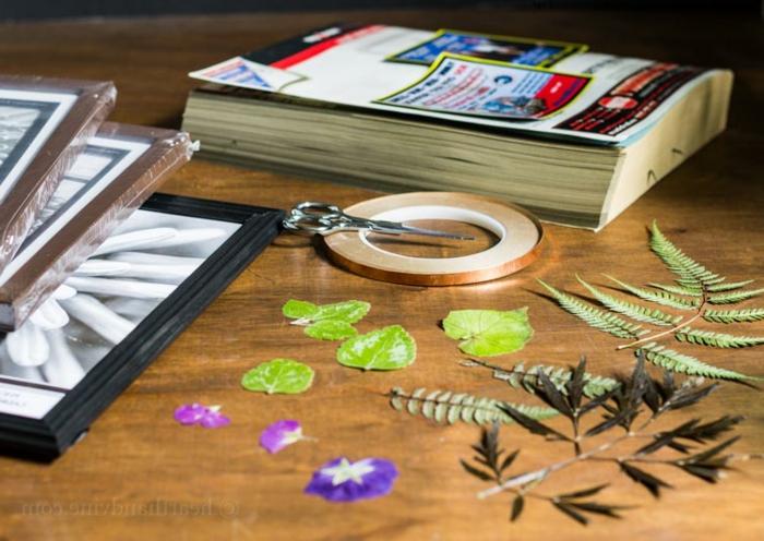 como hacer un precioso cuadro decorativo con flores y plantas secas, regalos originales para amigas
