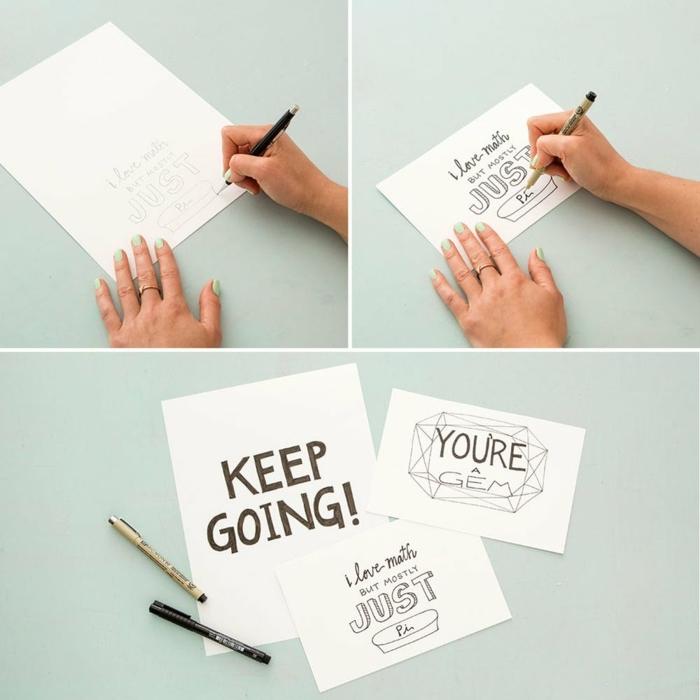 regalos amigas DIY paso a paso, cuadro decorativo hecho a mano con mensajes de motivación