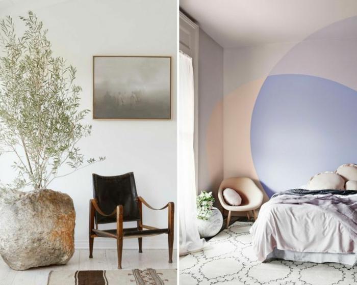 decoracion dormitorios decorados en colores pastel en la estilistica bohemia, propuestas en fotos