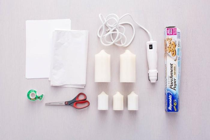 ejemplos de regalos caseros para amigas en fotos, materiales necesarios para decorar velas