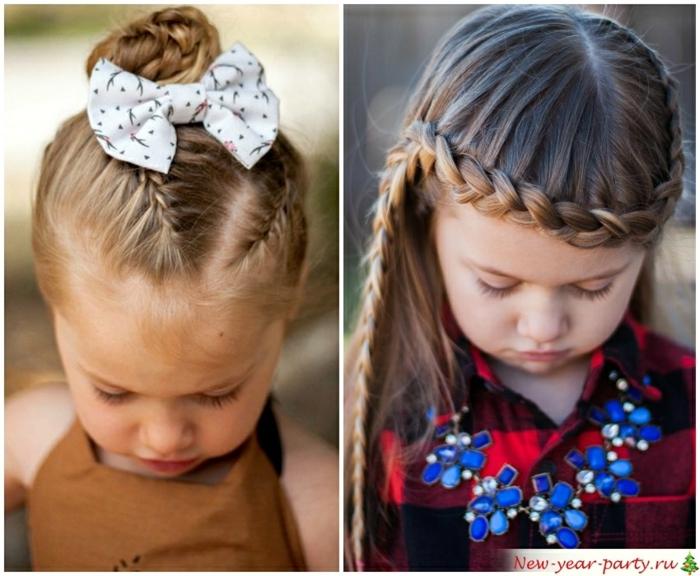 recogidos, fáciles, dos ideas de peinados para niñas contrenzas, pelo recogido y pelo suelto