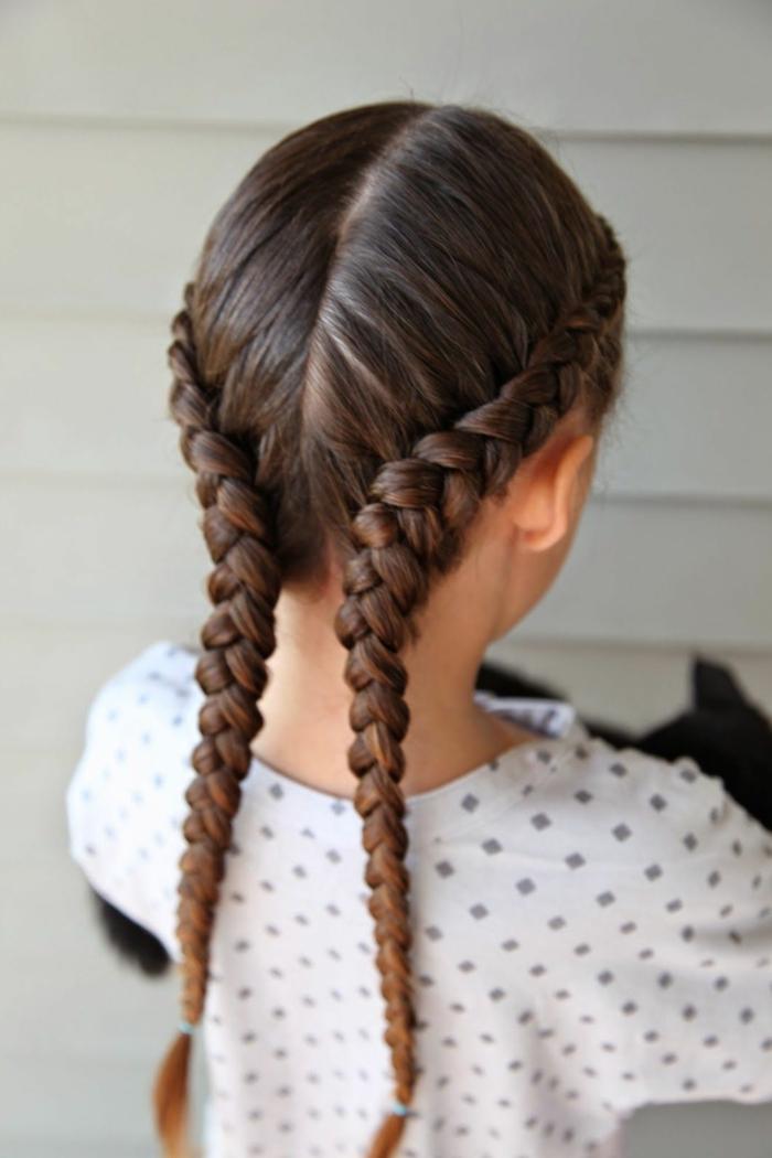 Instrucciones peinados con trenzas faciles Imagen De Tendencias De Color De Pelo - 1001 Ideas Para Peinados Faciles Para Ninas Con Trenzas Y ...