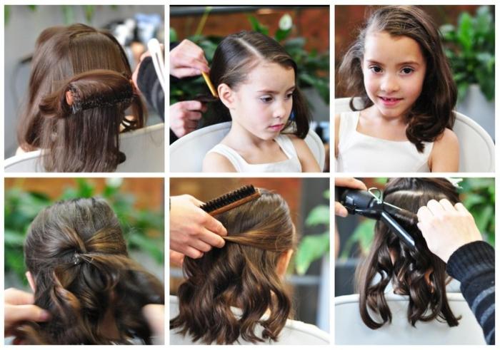 recogidos fáciles, 8 pasos a seguir para hacer ondua¡laciones en el pelo con plancha para niña