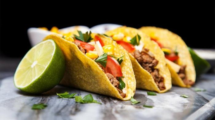 tortillas con carne picada de ternera y verduras, recetas bajas en calorias paso a paso